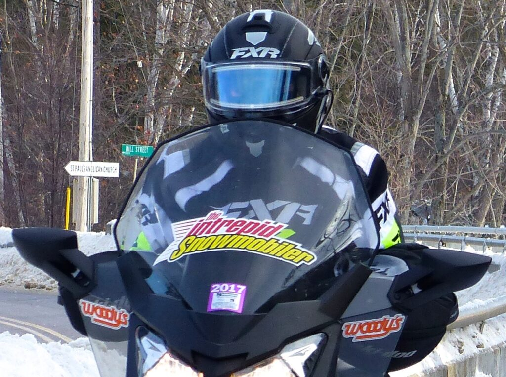 high snowmobile windshield