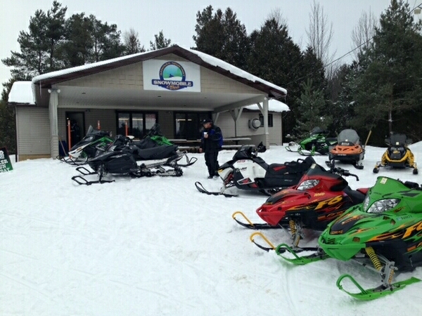 Ontario snowmobile clubhouses: