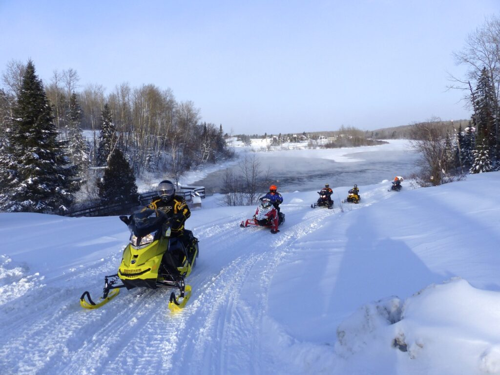 Abitibi-Témiscamingue is one of Quebec snowmobile tour destination favourites