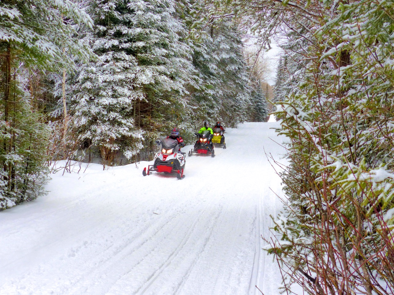 Ontario Snowmobile Tour Destinations Top 5