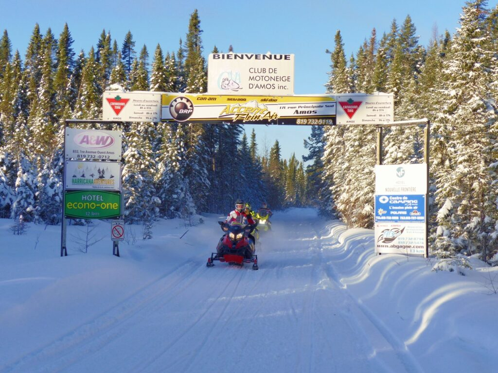 Abitibi-Témiscamingue embraces winter with trail billboards