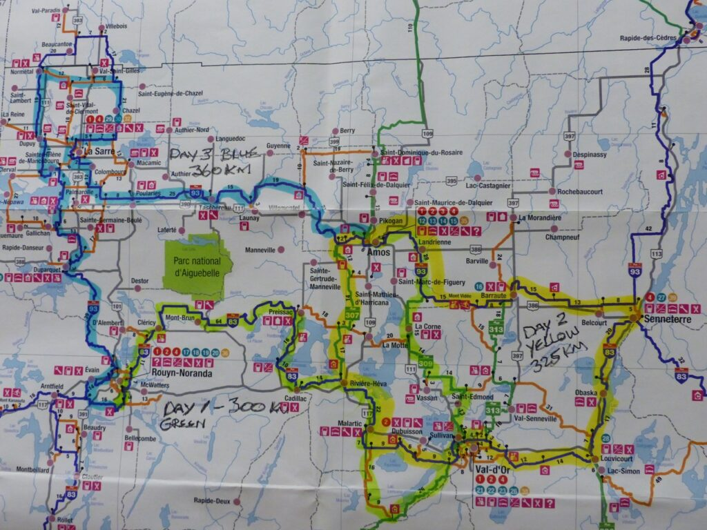 Abitibi-Témiscamingue embraces winter with good mapping