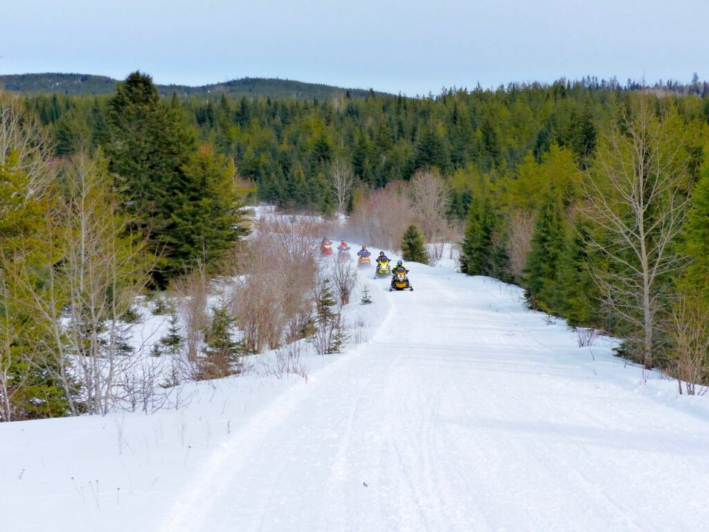 algoma country wilderness snowmobile trails