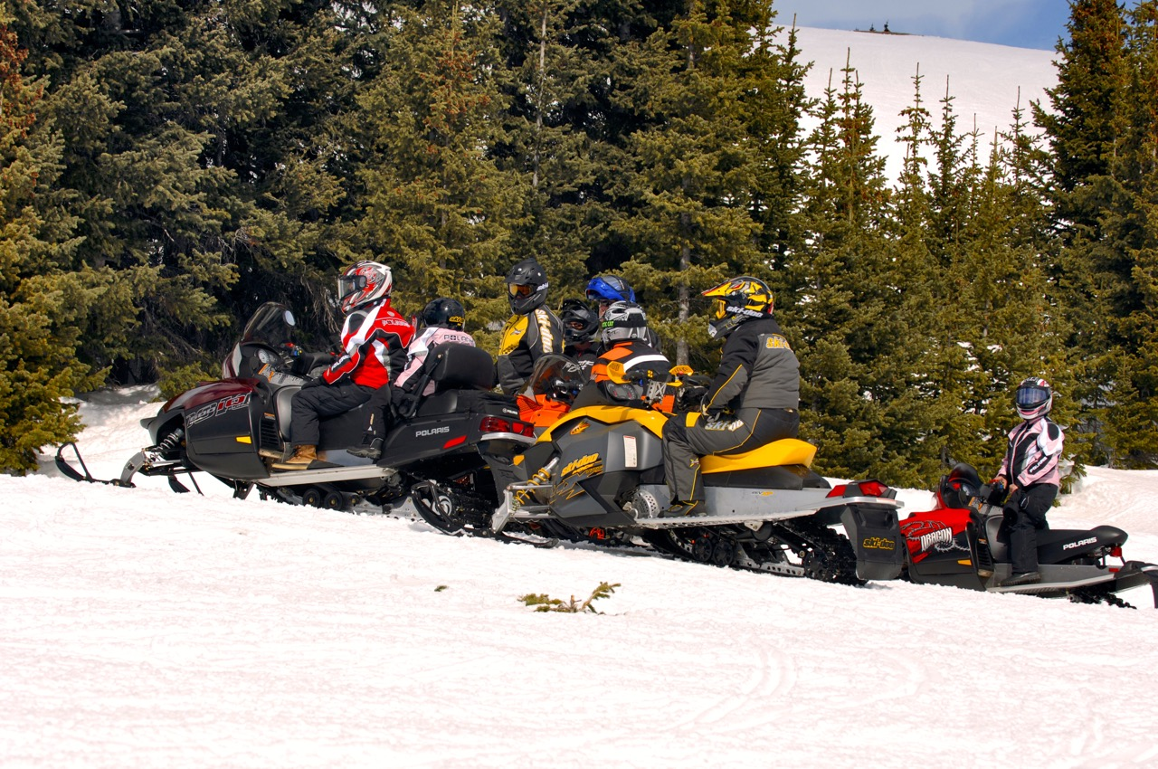 buy used snowmobiles from 2007