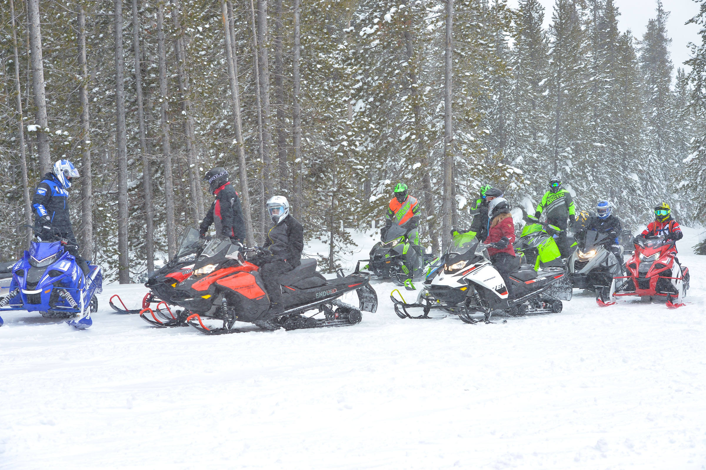 Buying The Right Snowmobile For You - Intrepid Snowmobiler