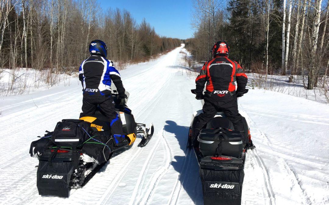 Cochrane Ontario Snowmobiling Snapshot