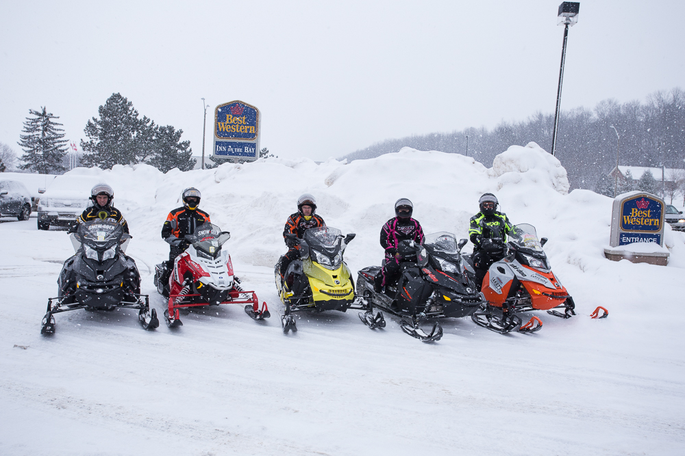 Best Western Inn On The Bay Owen Sound is the staging hotel for one of snowmobiling hubs near golden horseshoe