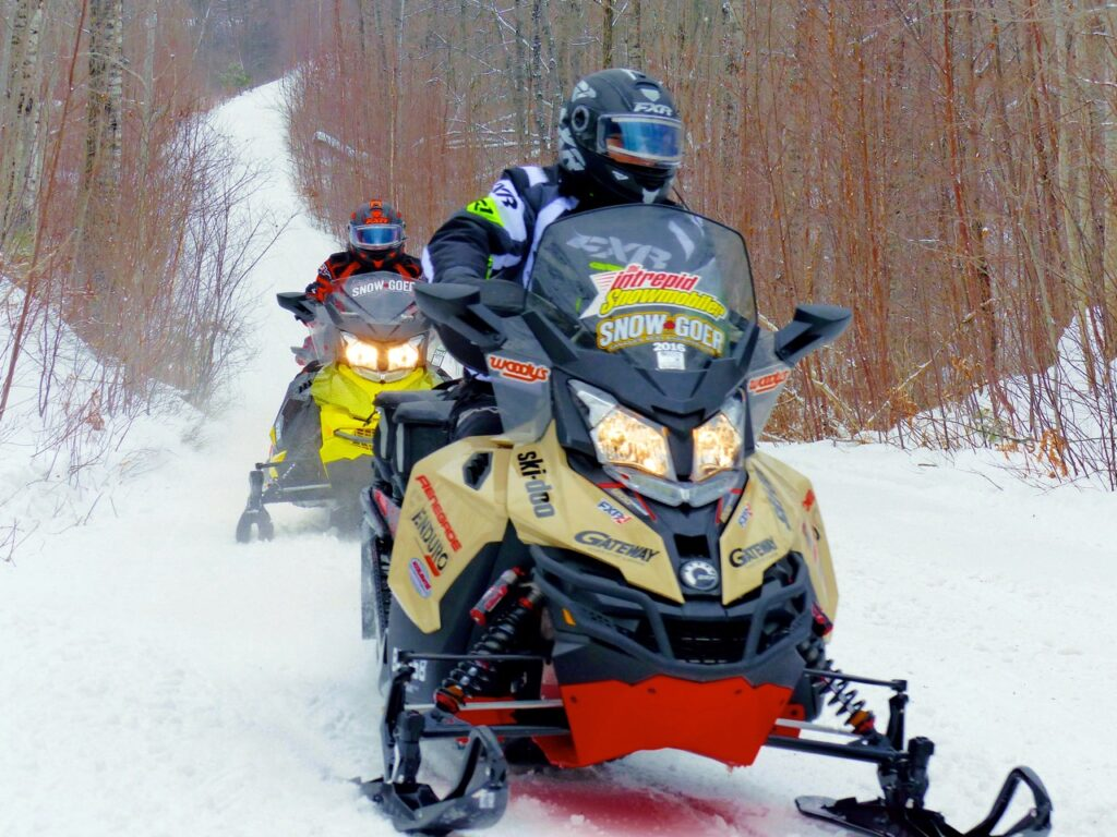 Pembroke Ontario snowmobiling is all about trail riding.