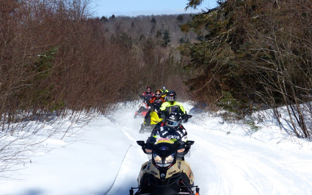 Pembroke Ontario Snowmobiling Snapshot