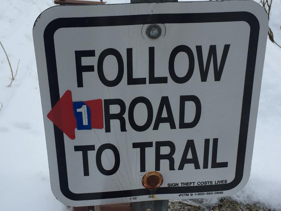 Stay on trail or suffer more road running!