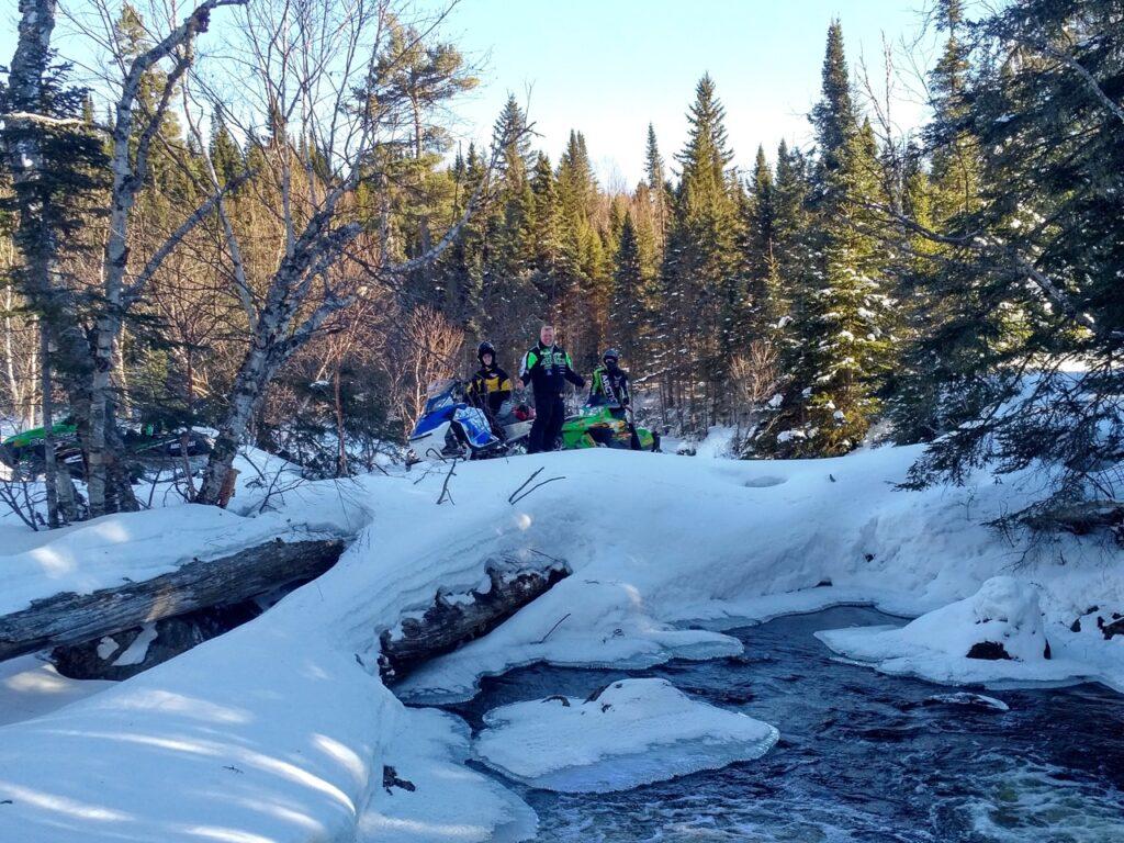 Visiting early season snowmobiling destinations