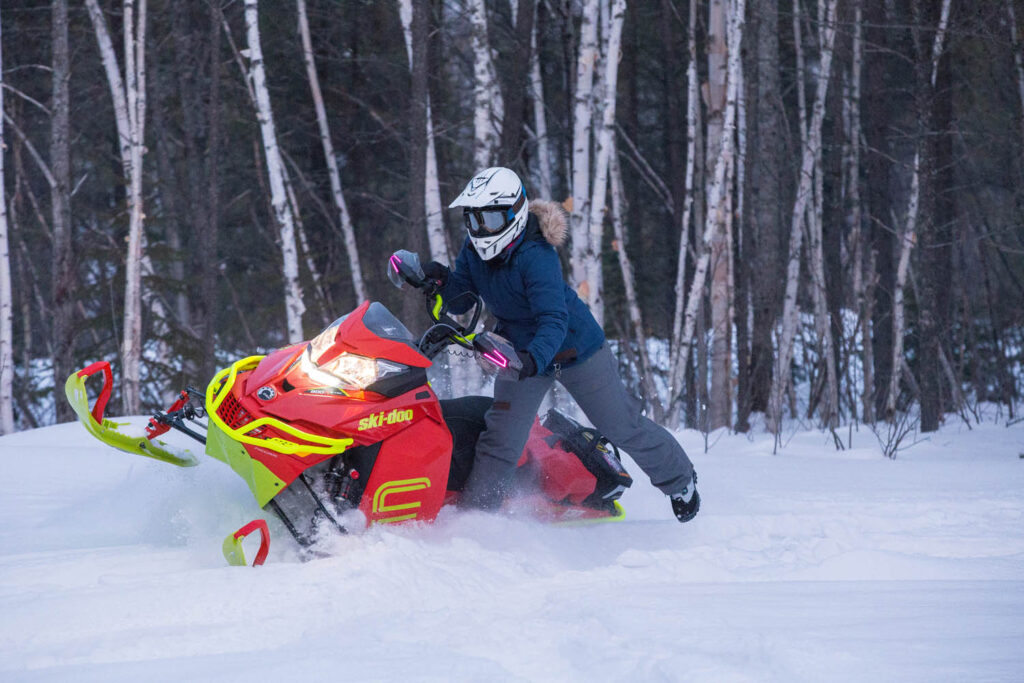 backcountry riding is not stay on trail