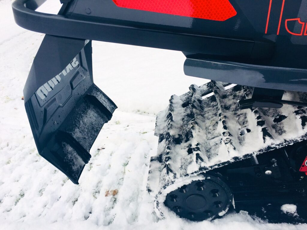 snowmobile maintenance tips include snow flap