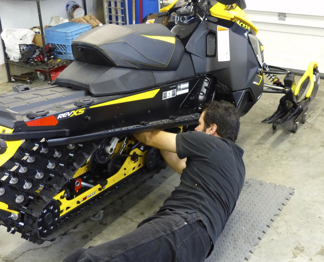 Snowmobile Maintenance Tips In Season