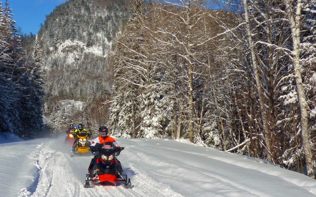 Four Popular Early Season Snowmobiling Destinations