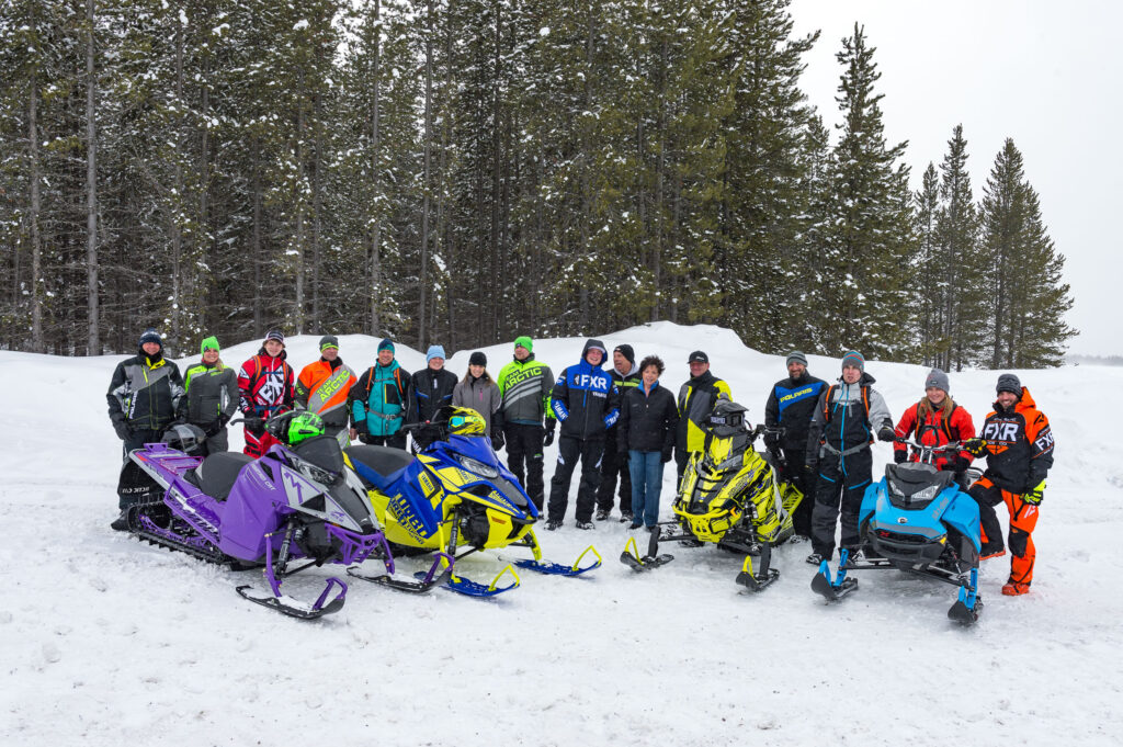 American snowmobilers want closest ontario trail riding to U.S. border