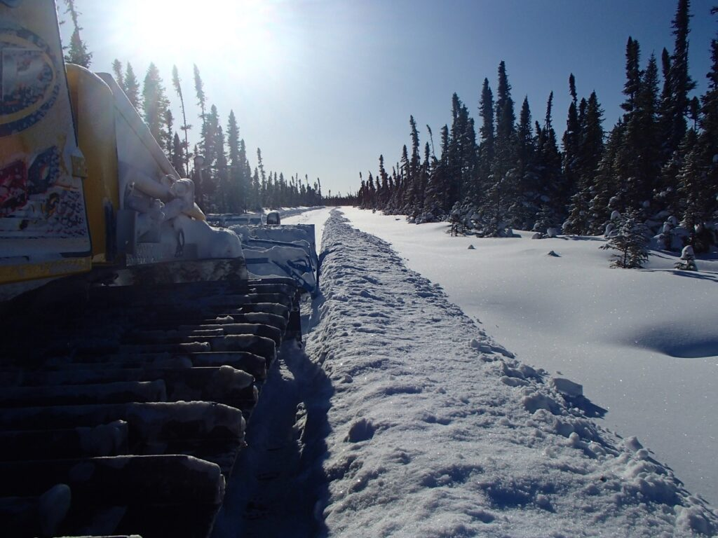 Grooming starts at early season snowmobiling destinations