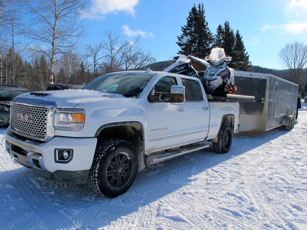 Learn about snowmobile trailer roof snow overload