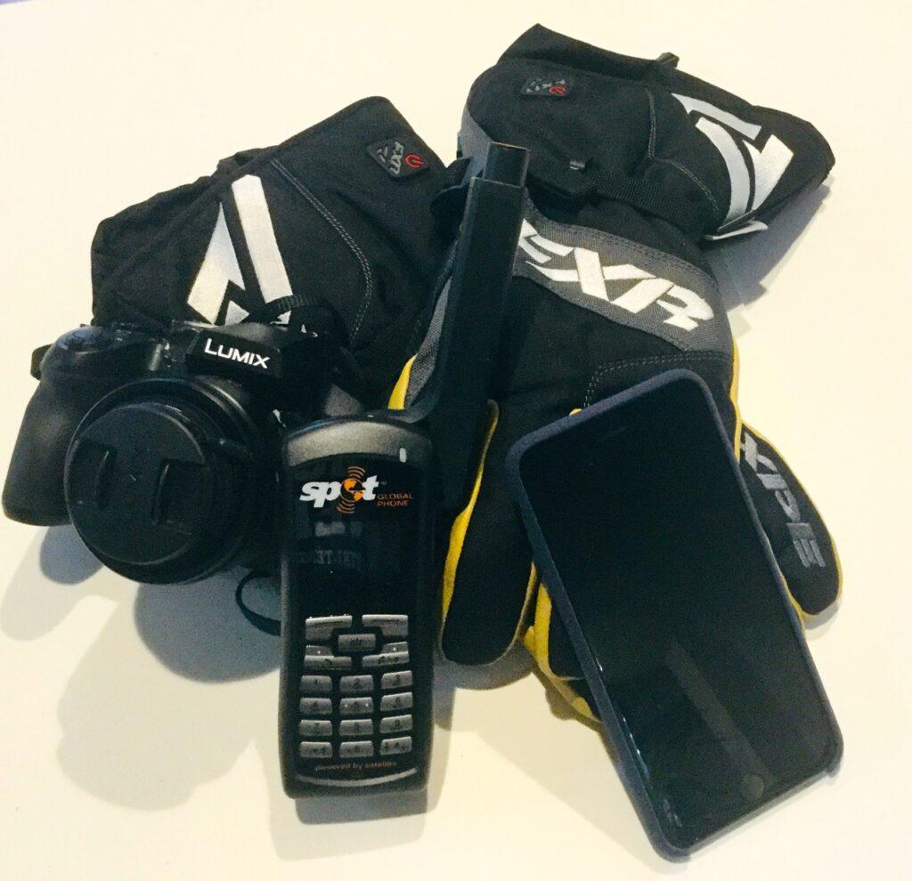 My camera, satellite phone, smart phone & heated gloves need longer battery life