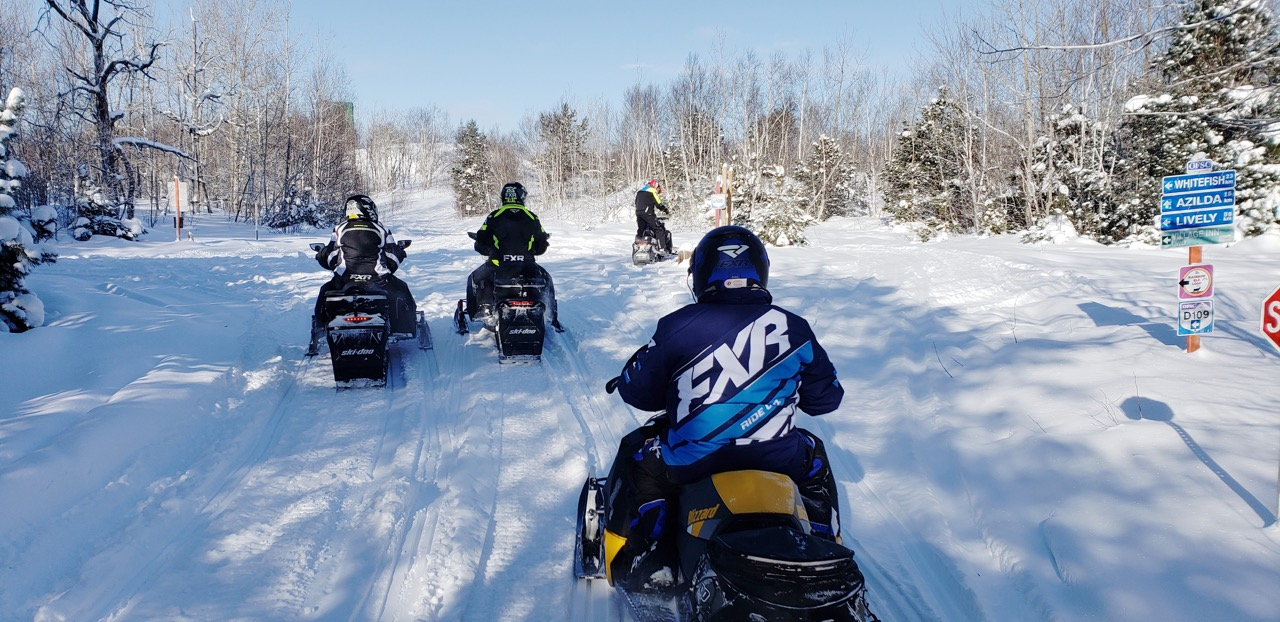 Snowmobile Trail Signs Tips