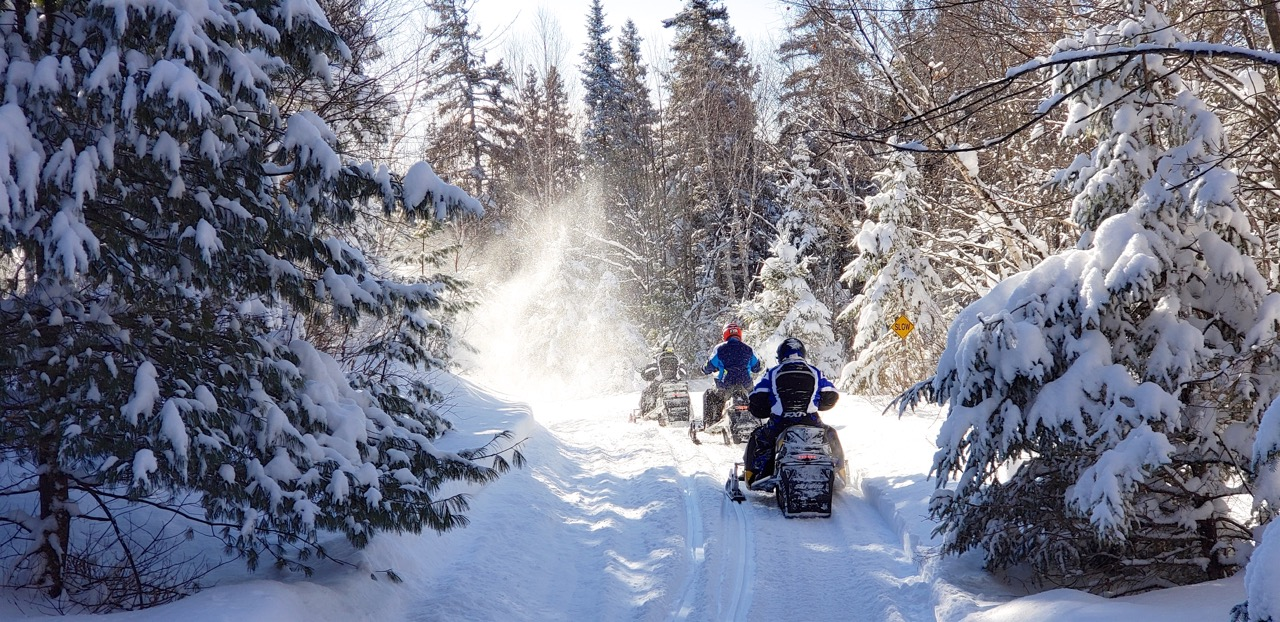 Snowmobile Greater Sudbury Ontario