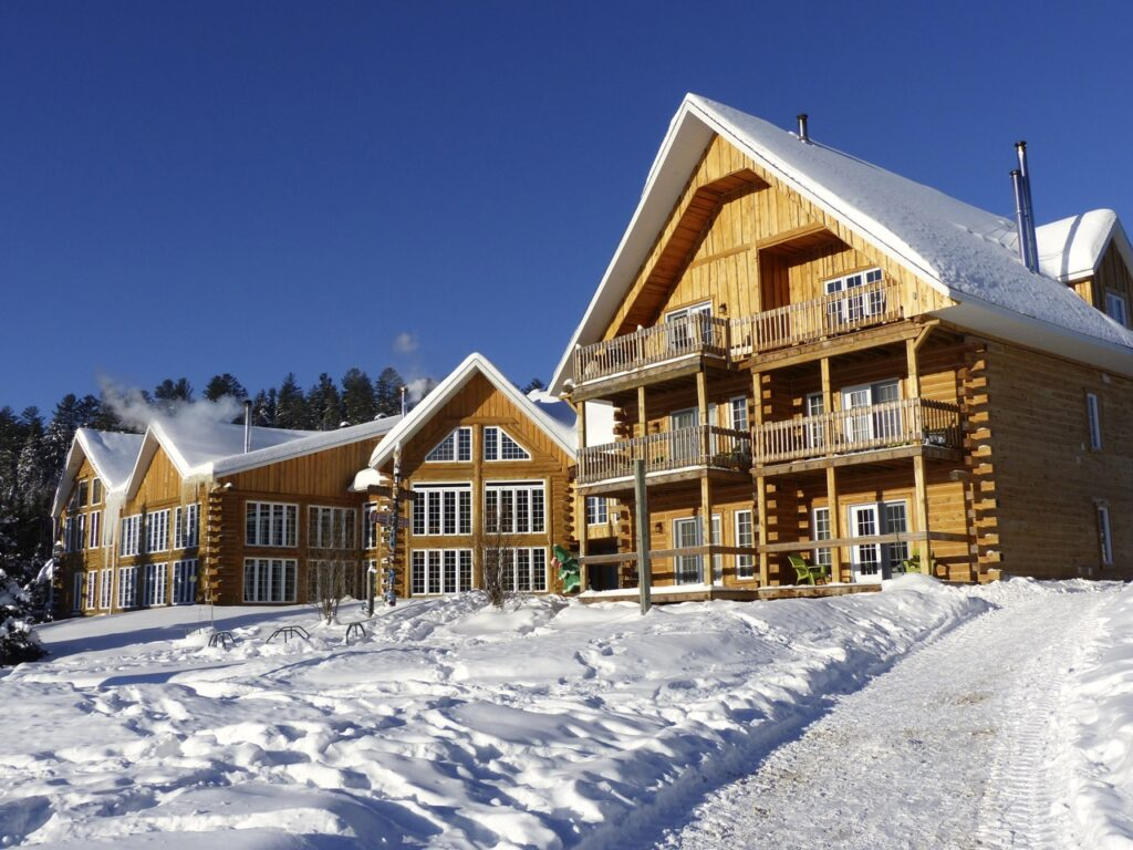 The Lanaudière Region offers a variety of Quebec Authentic Lodgings for Christmas Snowmobiling