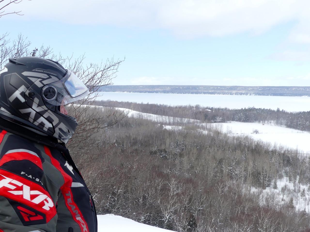 Snowmobile Midwestern Ontario