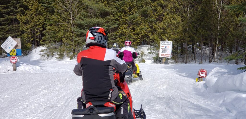 Group rides benefit from snowmobile helmet communicators