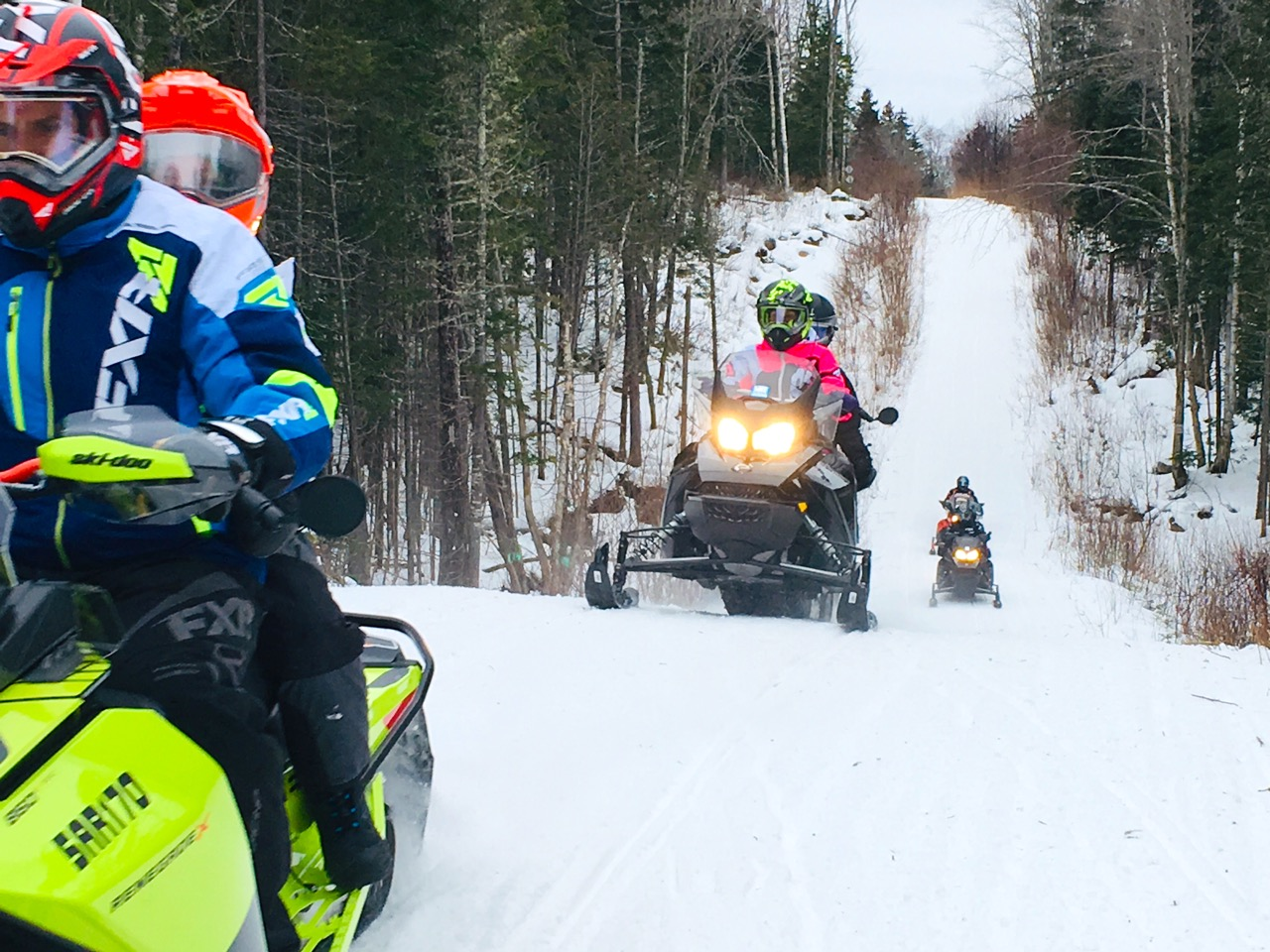 Snowmobile Tour Types & Choices