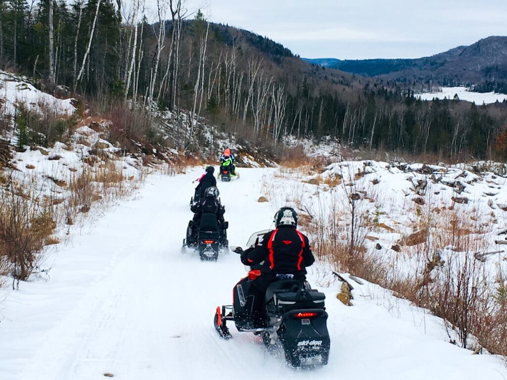 Choose among snowmobile tour types for one that's compatible for all riders.