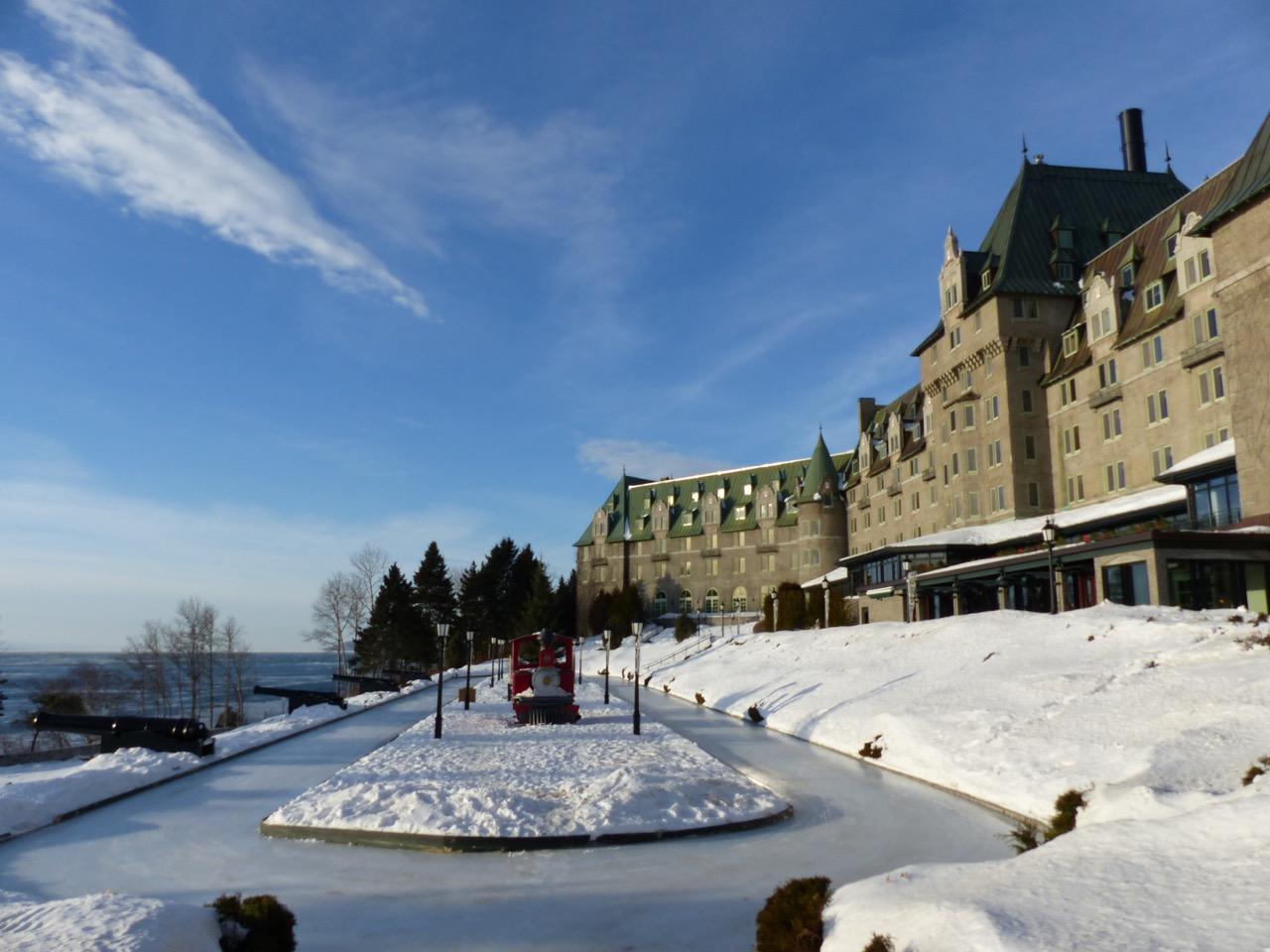 Charlevoix Quebec Snowmobiling Snapshot