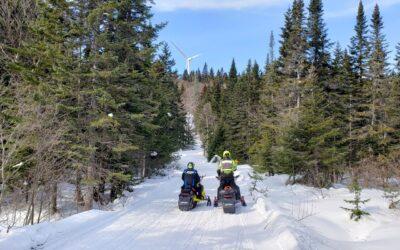 Chaudière-Appalaches Quebec Snowmobiling Snapshot