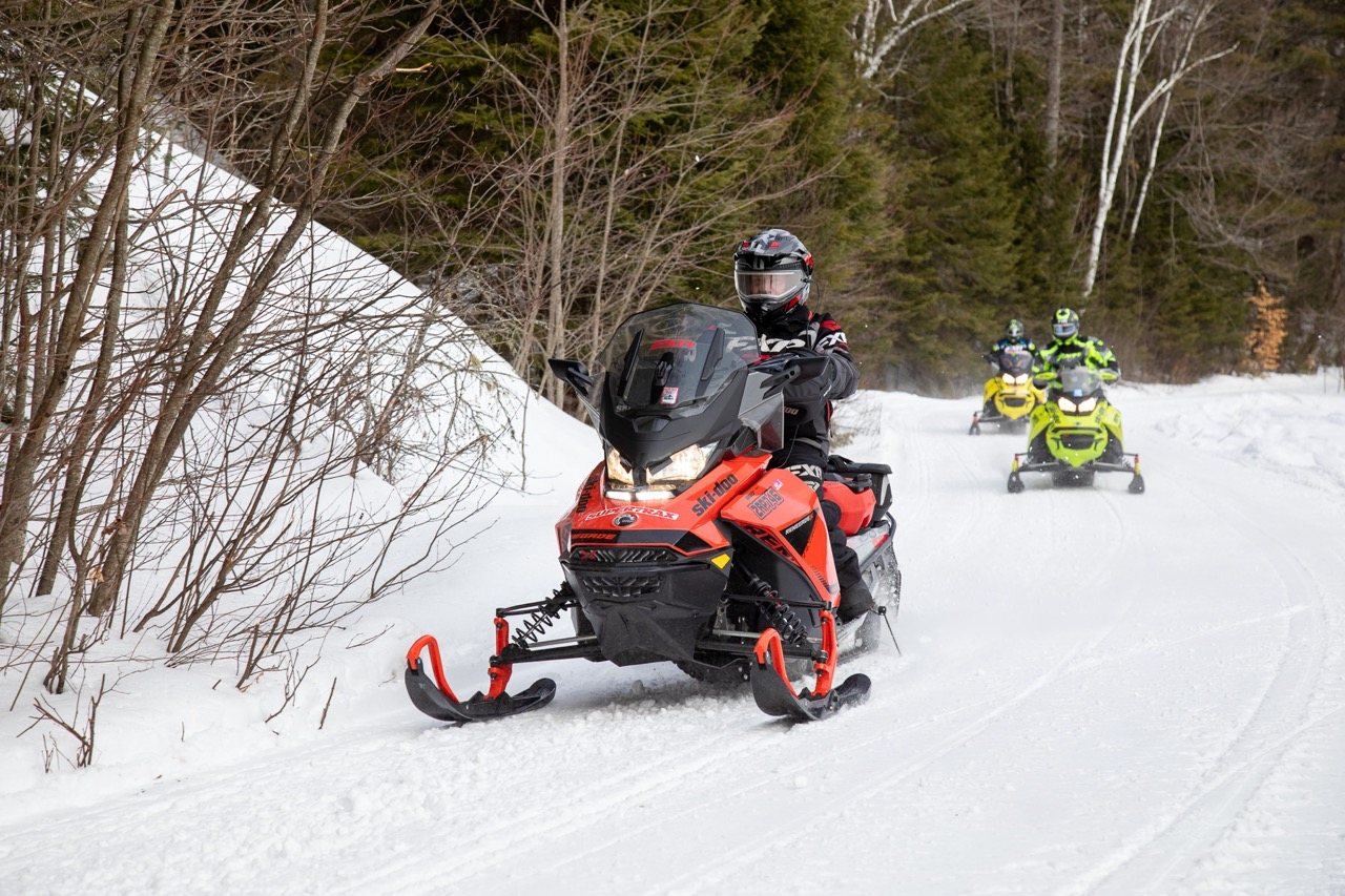 Let's be optimistic about riding open snowmobile trails this winter.