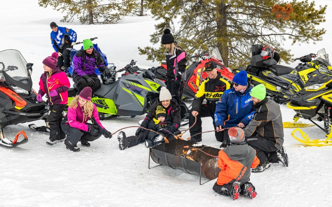 Open Snowmobile Trails For 2021