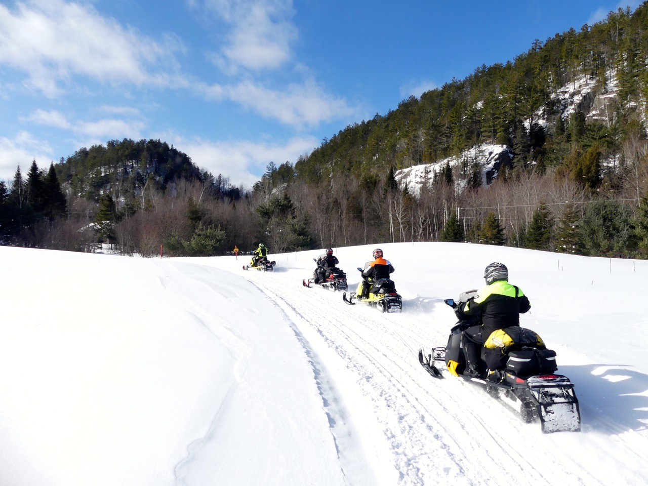 Outaouais Snowmobile Tour Planner