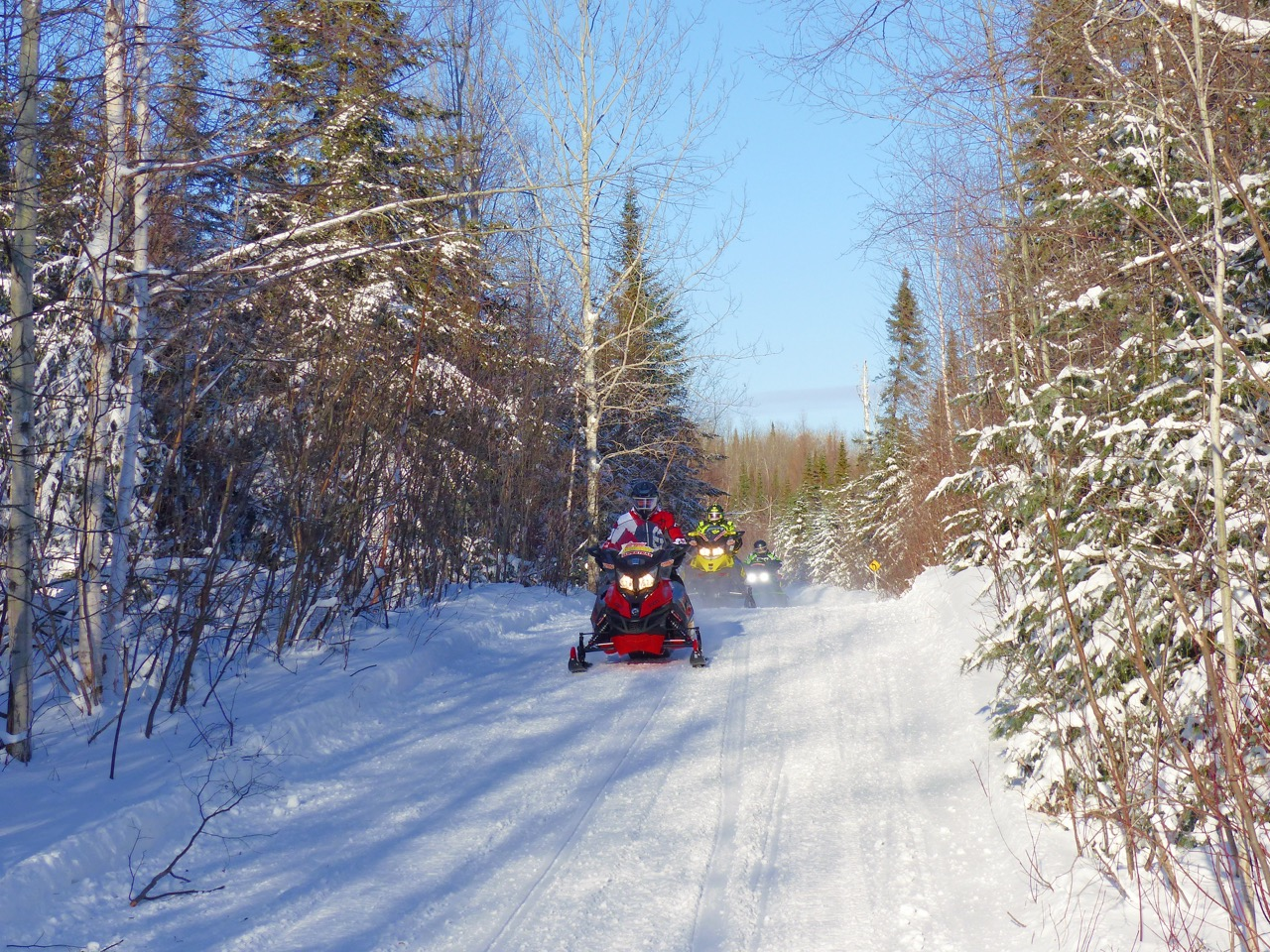 Exceptional trails are the norm for Snowmobile North Bay.