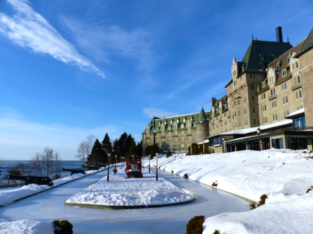 Fairmont Le Manoir Richelieu Charlevoix, called the castle on a cliff.