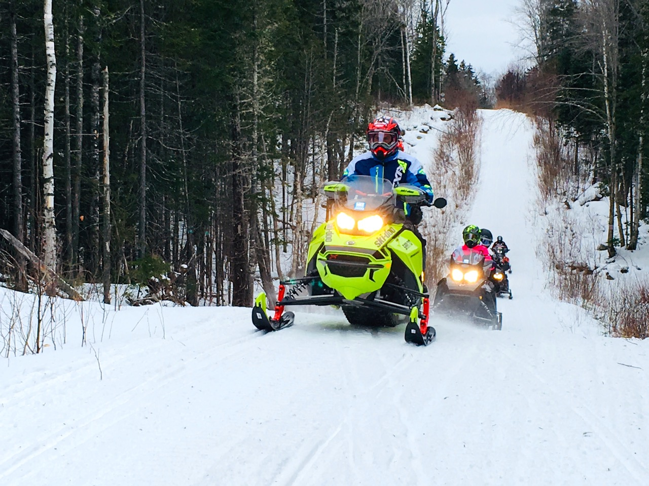 Will snowmobile dealers have sleds like this available this fall?