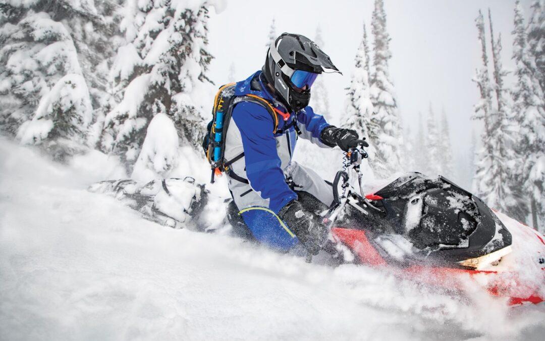 Deep Snow Sleds Problem On Trails